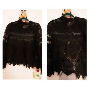 Laced tunic